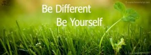 Be different.2